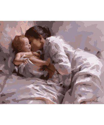 Картина по номерам Материнская любовь 40 х 50 см (BK-GX8128)  - Фото 1