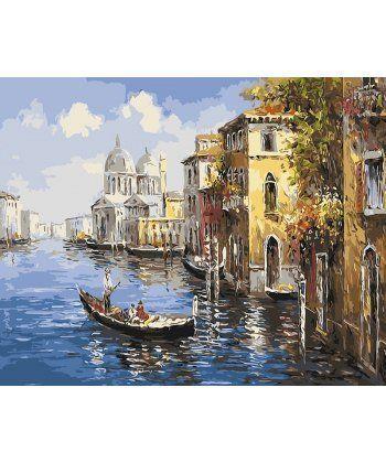 Картина по номерам Венецианская прогулка 40 х 50 см (BK-GX9621)  - Фото 1