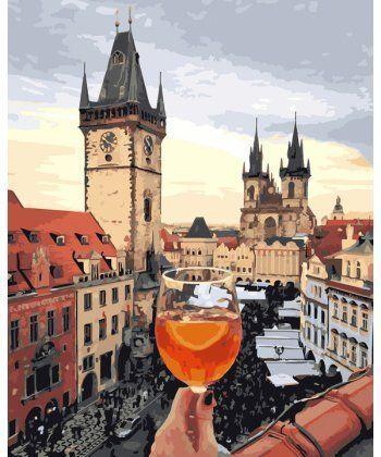 Картина по номерам Пражский Апероль 40 х 50 см (BK-GX25360)  - Фото 1