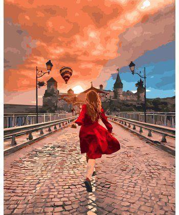 Картина по номерам Дорога к счастью 40 х 50 см (BK-GX25454)  - Фото 1