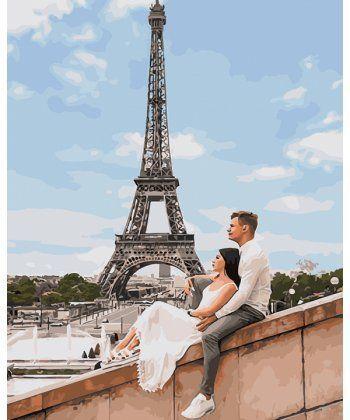 Картина по номерам Викенд в Париже 40 х 50 см (BK-GX25455)  - Фото 1