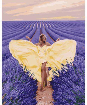 Картина по номерам Очарование в лавандовом поле 40 х 50 см (BK-GX27958)  - Фото 1