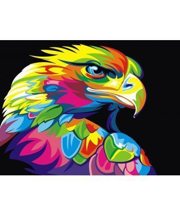 Картина по номерам Радужный орел 40 х 50 см (PGEX5329)  - Фото 1