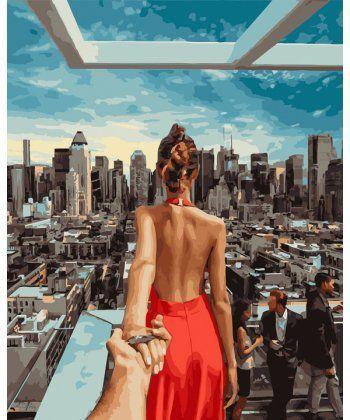 Картина по номерам Следуй за мной Манхеттен 40 х 50 см (PGX21784)  - Фото 1
