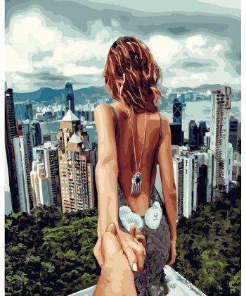 Картина по номерам Следуй за мной Сингапур 40 х 50 см (PGX22061)  - Фото 1