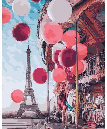 Картина по номерам Парижская сказка 40 х 50 см (PGX24914)  - Фото 1