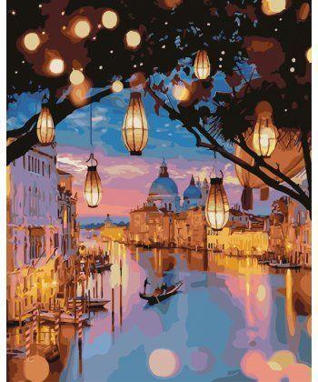 Картина по номерам Огни Венеции 40 х 50 см (PGX24915)  - Фото 1