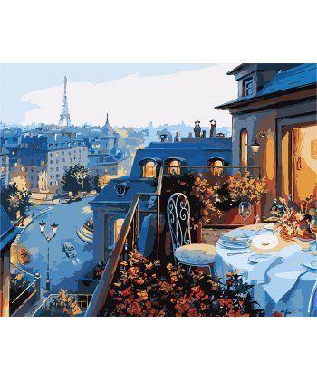 Картина по номерам Вид на Париж 40 х 50 см (PGX7255)  - Фото 1
