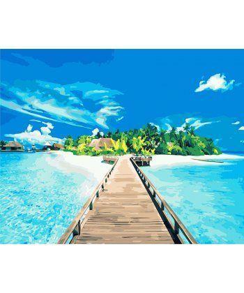 Картина по номерам Бали 40 х 50 см (PGX8114)  - Фото 1