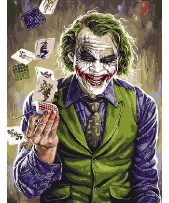 Картина по номерам Джокер 40 х 50 см (PGX9772)  - Фото 1