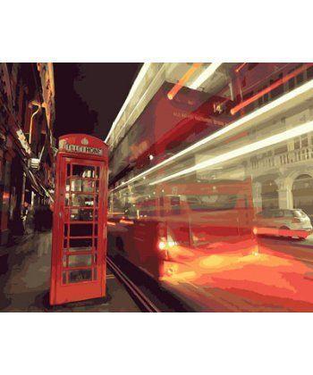 Картина по номерам Вечерний город 40 х 50 см (BK-GX23681)  - Фото 1