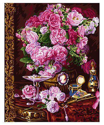 Картина по номерам Шикарные пионы 40 х 50 см (BK-GX24125)  - Фото 1