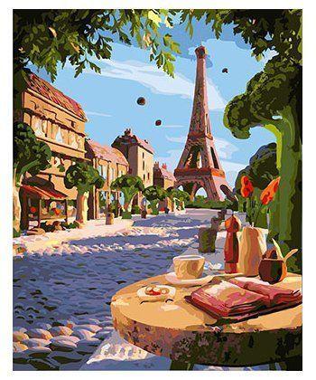 Картина по номерам Летний Париж 40 х 50 см (BK-GX26259)  - Фото 1