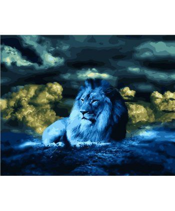 Картина по номерам Морской лев 40 х 50 см (BK-GX28307)  - Фото 1