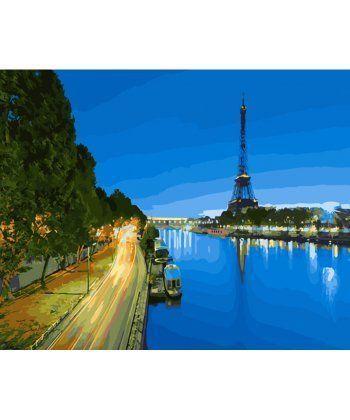 Картина по номерам Париж Вечер 40 х 50 см (BK-GX28310)  - Фото 1