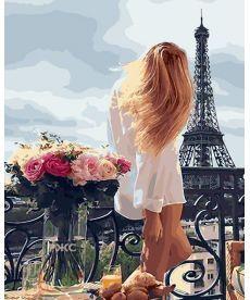 Картина по номерам Очарование Парижа 40 х 50 см (BK-GX28315)