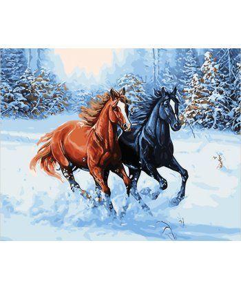 Картина по номерам Зимняя прогулка 40 х 50 см (BK-GX28318)  - Фото 1