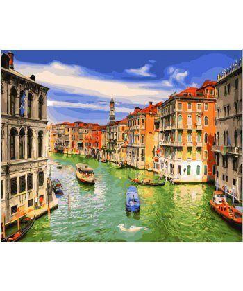 Картина по номерам Летняя Венеция 40 х 50 см (BK-GX28322)  - Фото 1