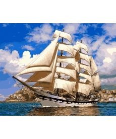 Картина по номерам Попутный ветер 50 х 65 см (VPS899)