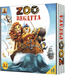 Настольная игра ЗооРегата (ZOOрегата)