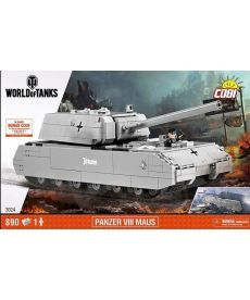 Конструктор COBI World Of Tanks Maus 890 деталей