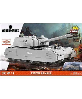 Конструктор COBI World Of Tanks Maus 890 деталей