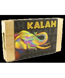 Калах (Kalah) с натуральными камнями