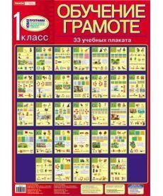 Комплект плакатов Изучение грамоты 1 класс