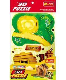 Настольная игра Іграшки 3D-пазли Будинок для вихованця цуценя