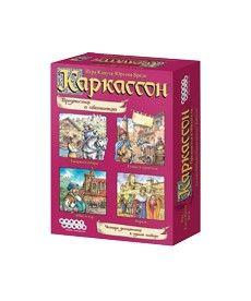 Настольная игра Каркассон. Предместья и обитатели. (дополнение)