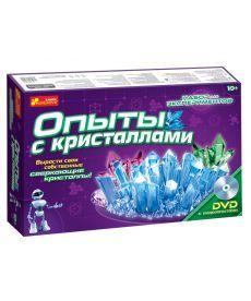 Настольная игра Набір для експериментів Досліди з кристалами