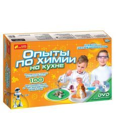 Настольная игра Набір для експериментів Досліди по хімії на кухні