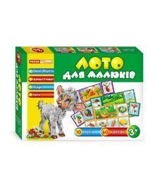 Настольная игра Лото для малюків.Овочі,фрукти,дерева,гриби,ягоди та квіти
