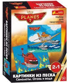 Настольная игра Картинка з піску Дісней Літачки. Вогонь та вода