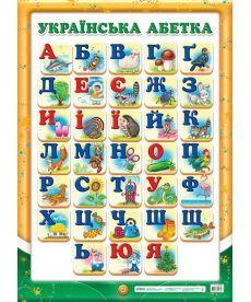Плакат.Український алфавіт (друкований)