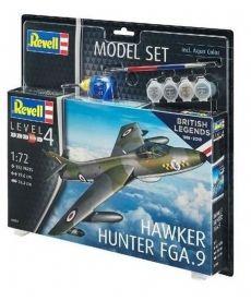 Сборная модель-копия Revell набор Истребитель Хокер «Хантер» уровень 4 масштаб 1:72