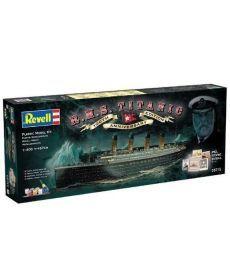 Сборная модель-копия Revell набор Лайнер Титаник. К 100летию постройки. уровень 5 масштаб 1:400