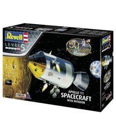 Сборная модель-копия Revell набор Модуль Колумбия миссии Аполлон 11 уровень 5 масштаб 1:32