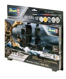Сборная модель-копия Revell набор Пиратский корабль Черная Жемчужина уровень 3 масштаб 1:150