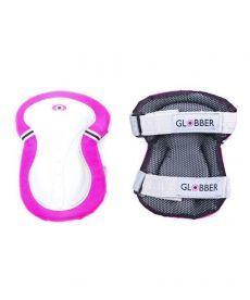 Комплект защитный подростковый GLOBBER, розовый, 25-50кг (XS)