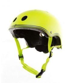 Шлем защитный детский GLOBBER, зеленый, 51-54см (XS)