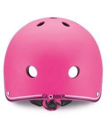 Шлем защитный детский GLOBBER, розовый, 48-51см (XXS)