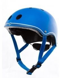 Шлем защитный детский GLOBBER, синий, 51-54см (XS)
