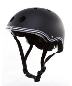 Шлем защитный детский GLOBBER, черный, 51-54см (XS)