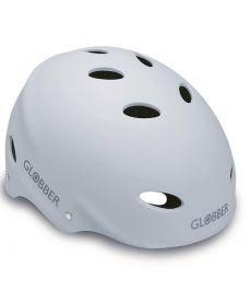 Шлем защитный подростковый GLOBBER, матово-белый, 57-59см (M)