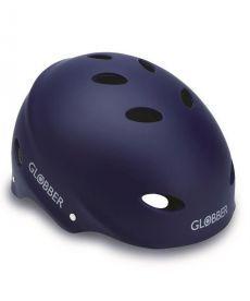 Шлем защитный подростковый GLOBBER, матово-синий, 57-59см (M)