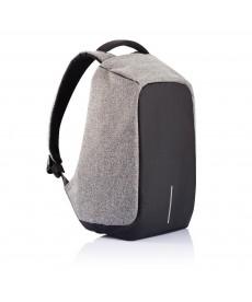 """Рюкзак """"Bobby""""/серый/защита от краж"""