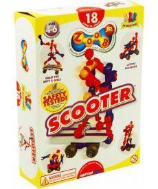 Конструктор ZOOB JR.Scooter (пластмасовый в коробе)
