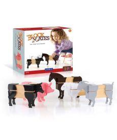 Игровой набор Guidecraft Block Mates Животные на ферме (без блоков) (G7601)