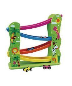 """Игровой набор Viga Toys """"Автотрек"""" (59610)"""